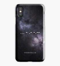 Interstellar  ... - .- -.- iPhone Case/Skin
