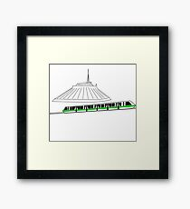 Enter the Land of Tomorrow Framed Print