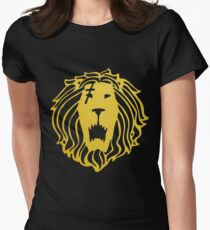 Pride, The Lion Women's Fitted T-Shirt