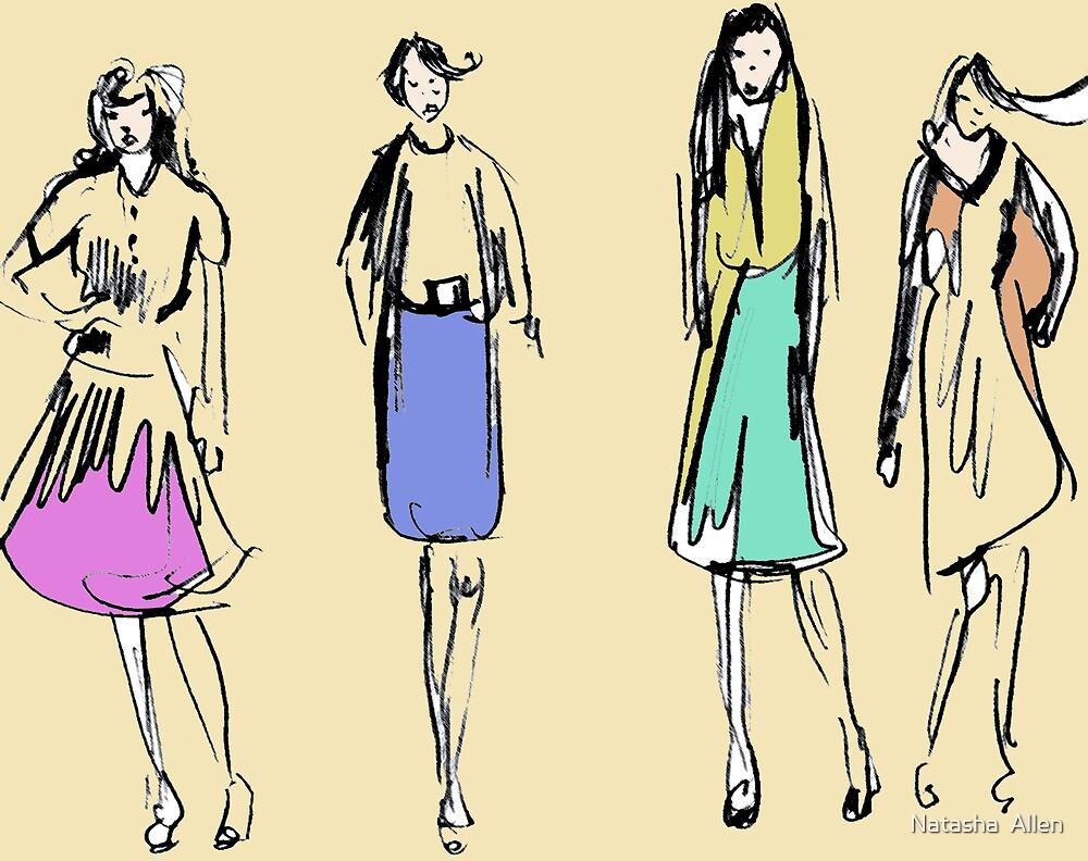 working girls by Natasha  Allen