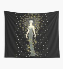 "Art Deco Illustration ""Star Struck"" by Erté Wall Tapestry"