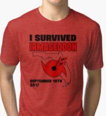 I survived hurricane Irma - Irmageddon Tri-blend T-Shirt