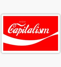 Enjoy Capitalism Sticker