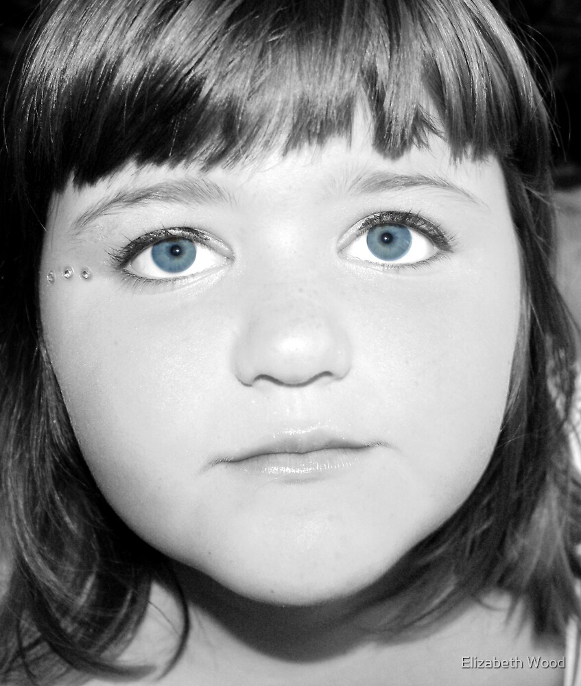 Blue Eyes by Elizabeth Wood