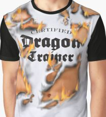 Certified Dragon Trainer Graphic T-Shirt