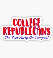 College Republicans Sticker