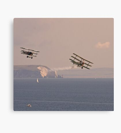 Dogfight over the Solent Canvas Print