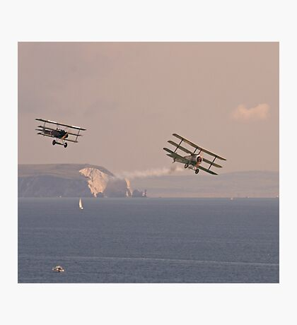 Dogfight over the Solent Photographic Print