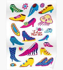 Shoe shoe shoe Poster