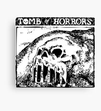 Tomb of Horrors: Skull Hill Canvas Print