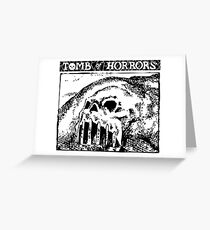 Tomb of Horrors: Skull Hill Greeting Card