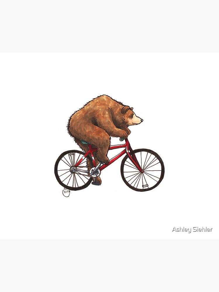 Bear on a Bike by WeileAsh
