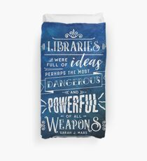 Libraries Duvet Cover