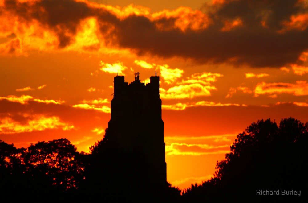 Church at Sunset by Richard Burley