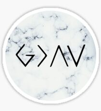 Marble - God Is Greater Than The Highs And Lows Sticker