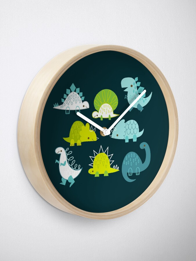 Alternate view of Dinosaurs Clock