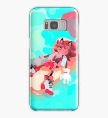 Shadow The Hedgehog, Relaxing Samsung Galaxy Case/Skin