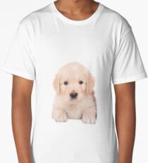Sweet Golden Retriever Long T-Shirt