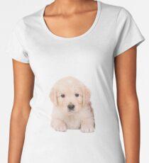 Sweet Golden Retriever Women's Premium T-Shirt