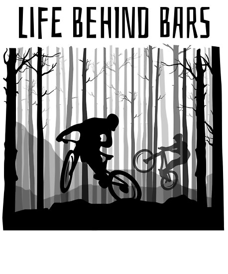 Mtb Mountain Bike T Shirt Biking Shirt Bmx Jersey Great Gift Poster
