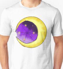 Creepy Cute Halloween Series, Moon and Web (variation 1 of 4) T-Shirt