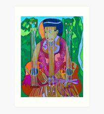Ukulele: Four Strings  Art Print