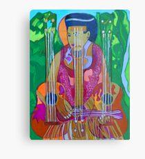 Ukulele: Four Strings  Metal Print