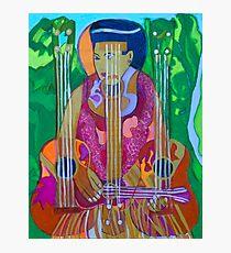 Ukulele: Four Strings  Photographic Print