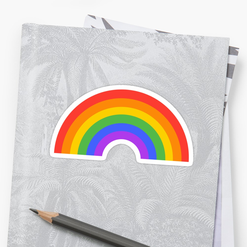 Regenbogen Sticker