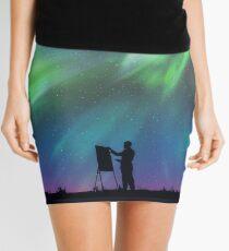 Borealis Painter Mini Skirt
