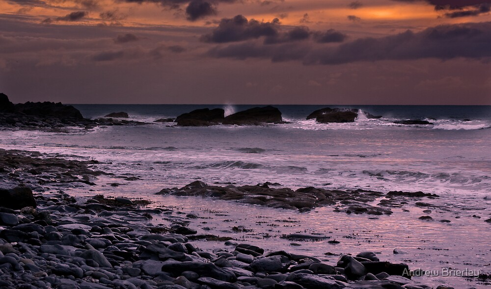 Evening tide by Andrew Brierley