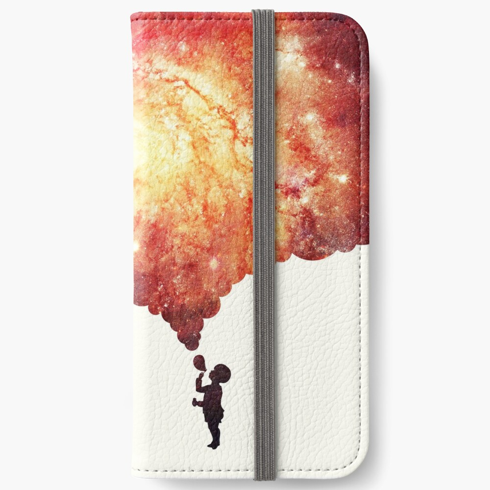 The universe in a soap-bubble! iPhone Wallet