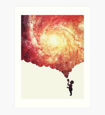 The universe in a soap-bubble! Art Print