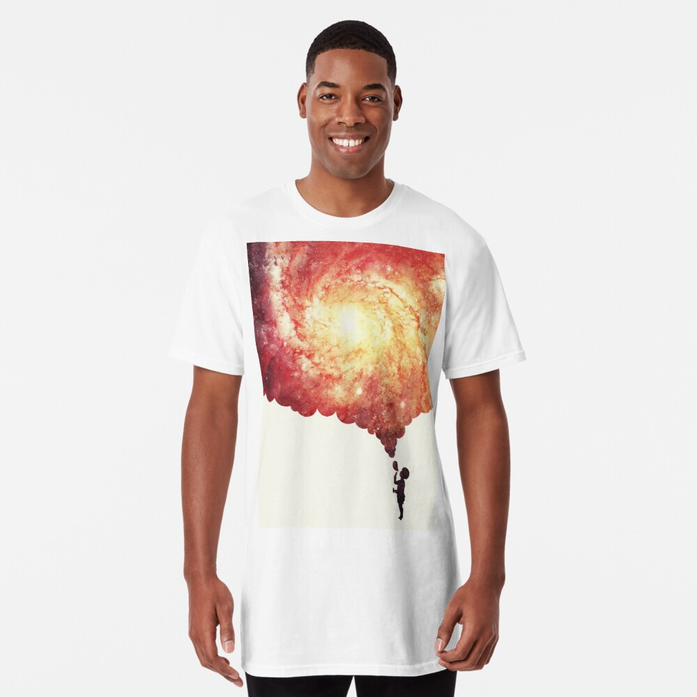 The universe in a soap-bubble! Long T-Shirt