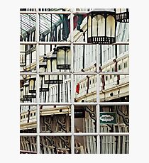 Shopping Arcade Abstract Photographic Print