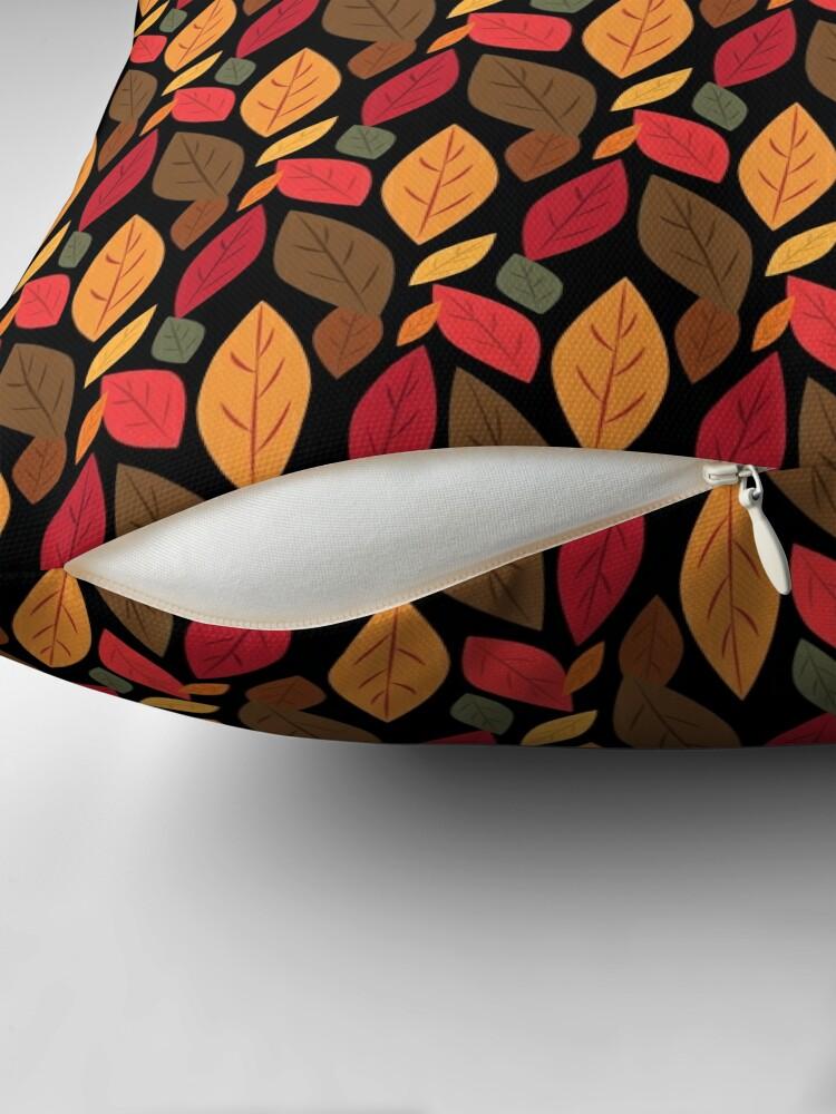 Alternate view of Autumn Leaves Floor Pillow