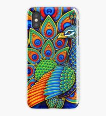 Colorful Paisley Peacock Bird iPhone Case/Skin