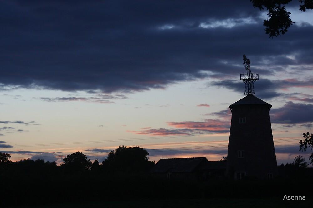 Evening Sky by Asenna