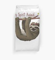 Sloth My Spirit Animal - Cute Sloth Shirt Duvet Cover