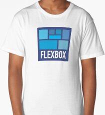 CSS Flexbox Long T-Shirt