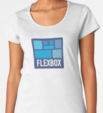 CSS Flexbox Women's Premium T-Shirt