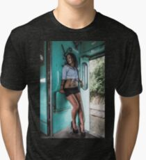 Take a little trip Tri-blend T-Shirt