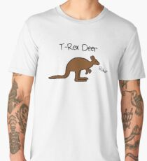 Kangaroos Are T-Rex Deer Men's Premium T-Shirt