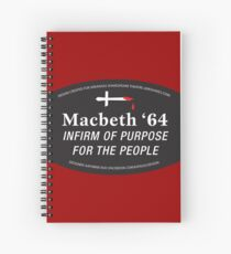 The Arkshakes Collection: Macbeth '64 Spiral Notebook