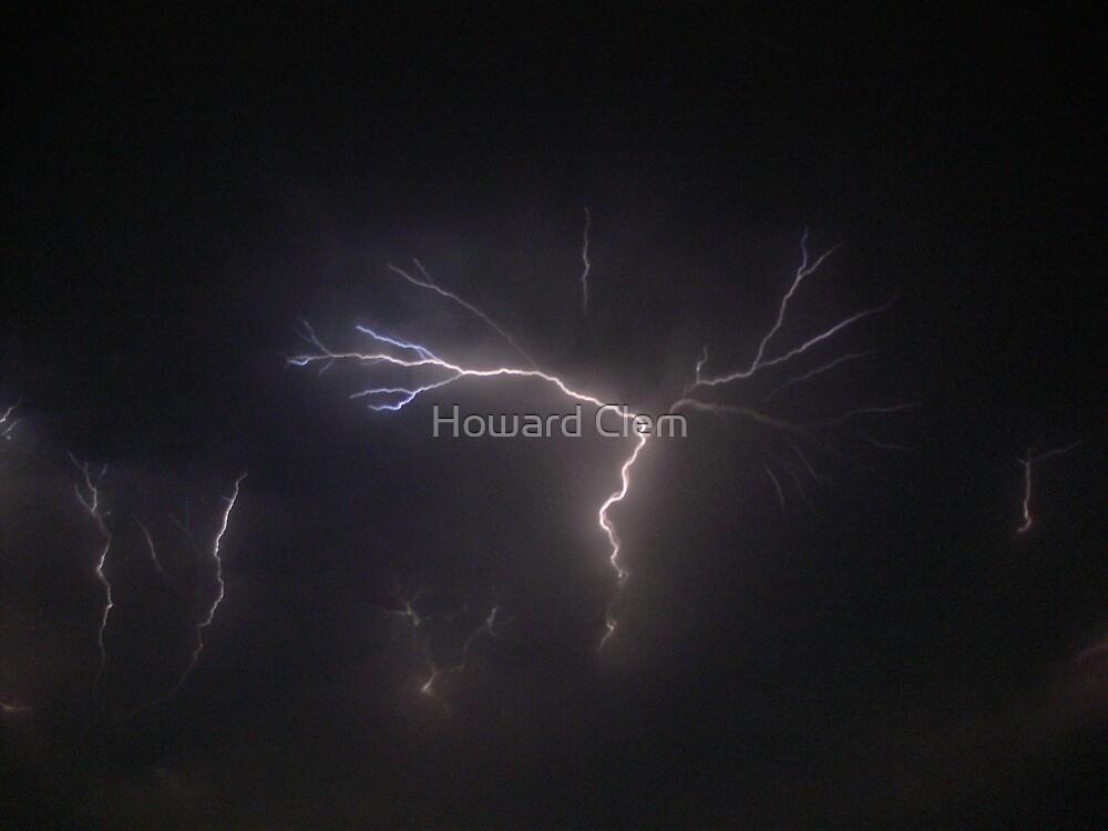 Lighting Storm by Howard Clem
