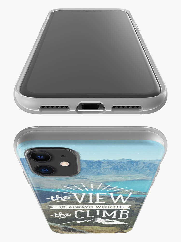 Alternate view of WORTH THE CLIMB iPhone Case & Cover