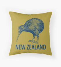 KIWI-NEW ZEALAND 3 Throw Pillow