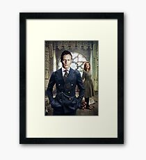 Giles & Willow Framed Print