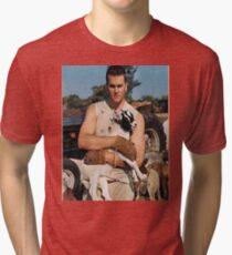 Tom Brady the GOAT Tri-blend T-Shirt