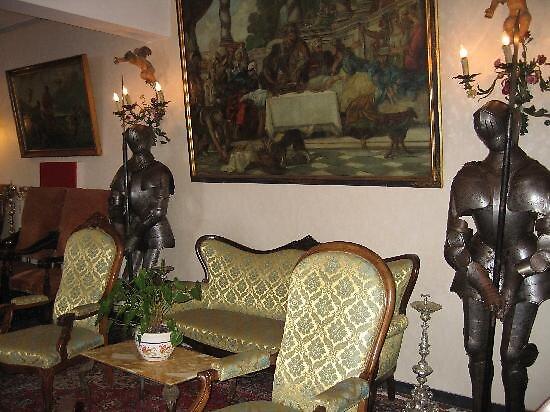 lobby of Hotel Porto Roca, Monterroso, Italy by chord0